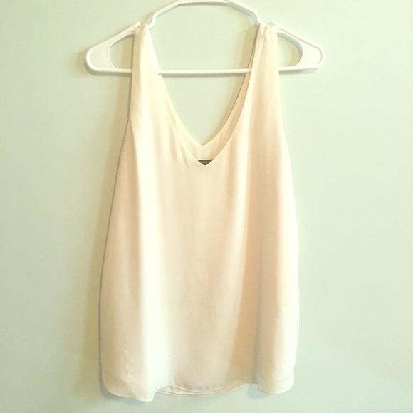 Rw&co white tank blouse